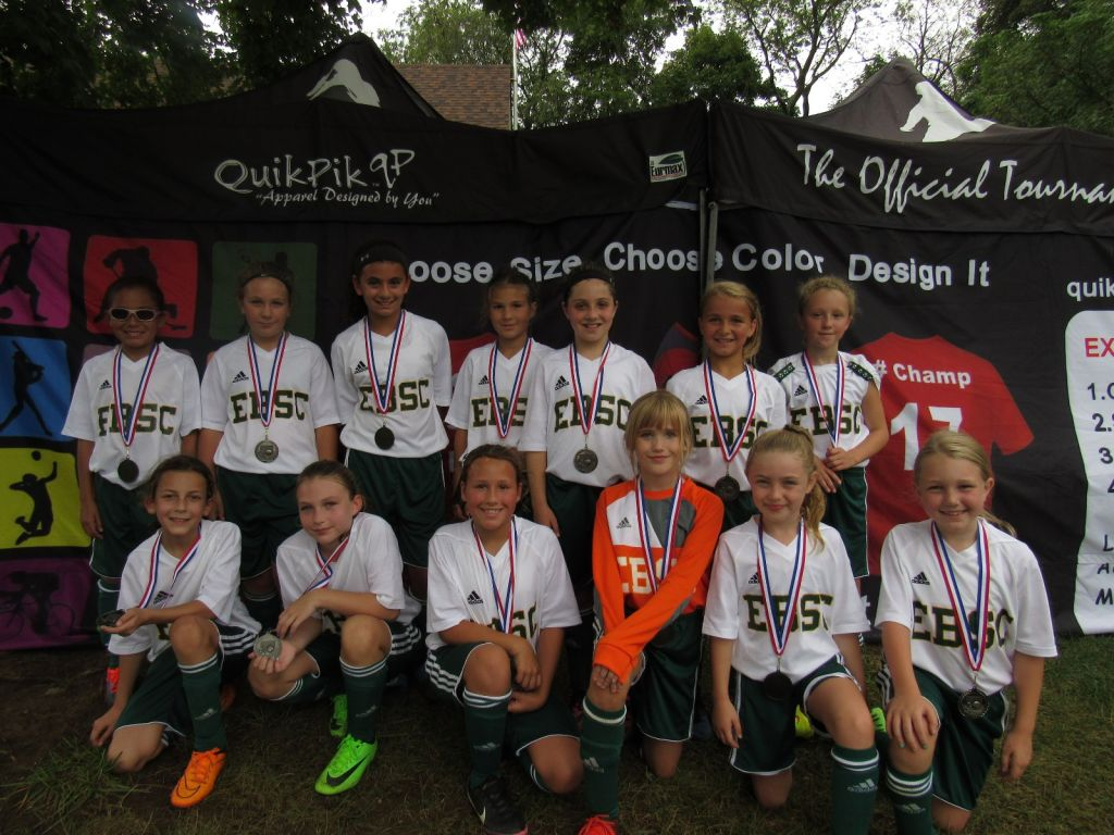 Congratulations to 2008 Girls Premier Who Placed 2nd in the EB Labor Day Tournament