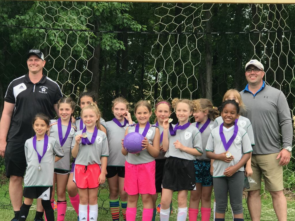 EBSC U9 Girls wins Hazlet Rec Tournament